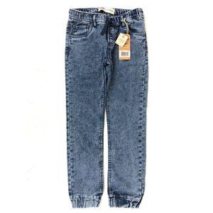 New Levi's Boys Knit Jogger Pants Jeans Size: M